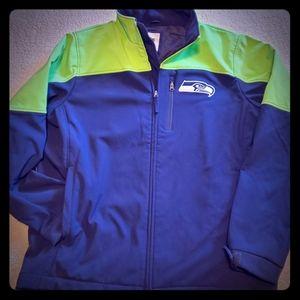 Seahawks Mens fleece lined jacket